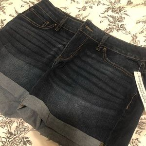 Crop Jean Short - nwt